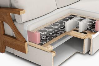 Конструкція дивана