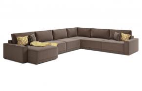 Бенджамин Q модульный угловой диван