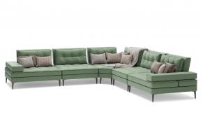 Кольт D модульний кутовий диван