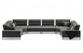 Кольт F модульний кутовий диван