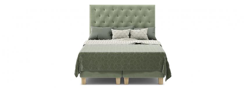 Естер 1.6 ліжко box spring - фото 1