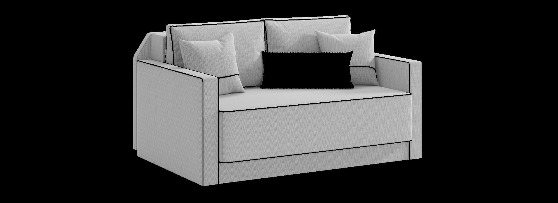 Еван диван із розкладкою вперед - маска 2
