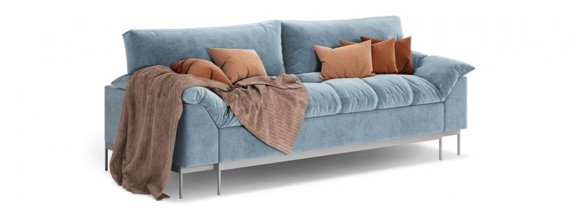 Гарфілд прямий диван - фото 2