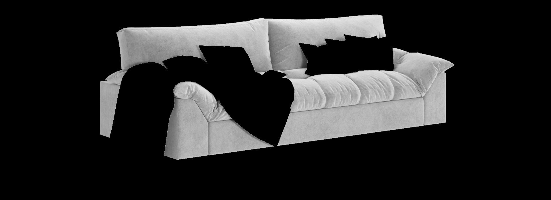 Гарфілд прямий диван - маска 2