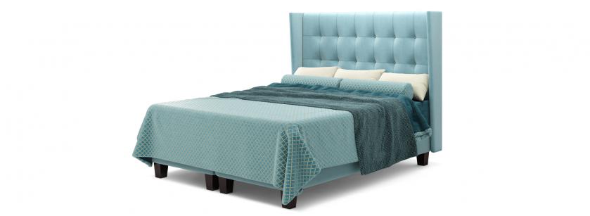 Грета 1.6 ліжко box spring - фото 2
