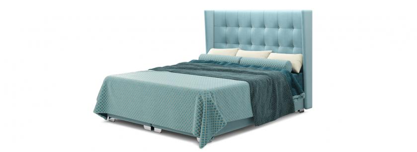 Грета 1.6 ліжко box spring - фото 4