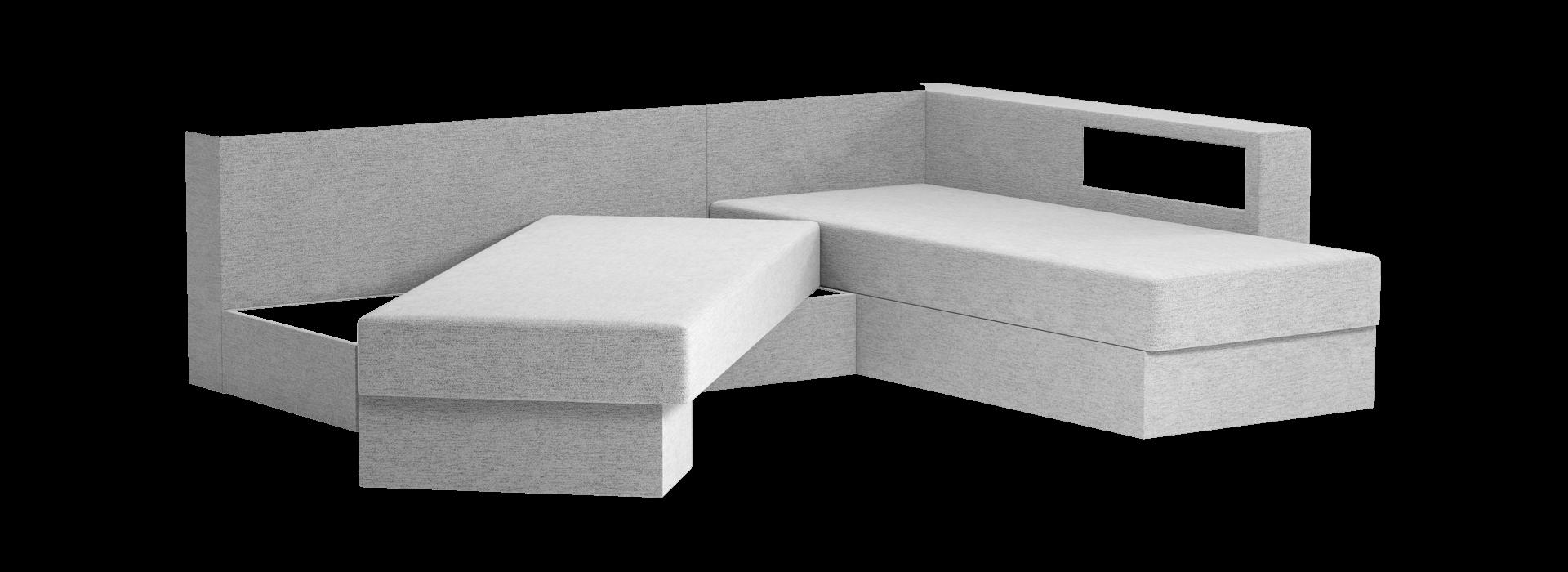 Кешет-2 кутовий поворотний диван - маска 3