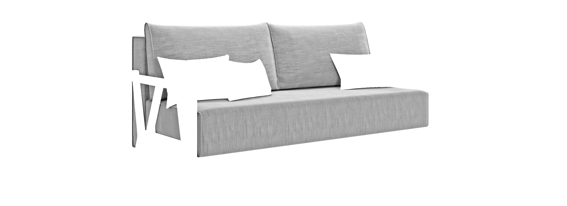 Ларри Прямой диван - маска 2