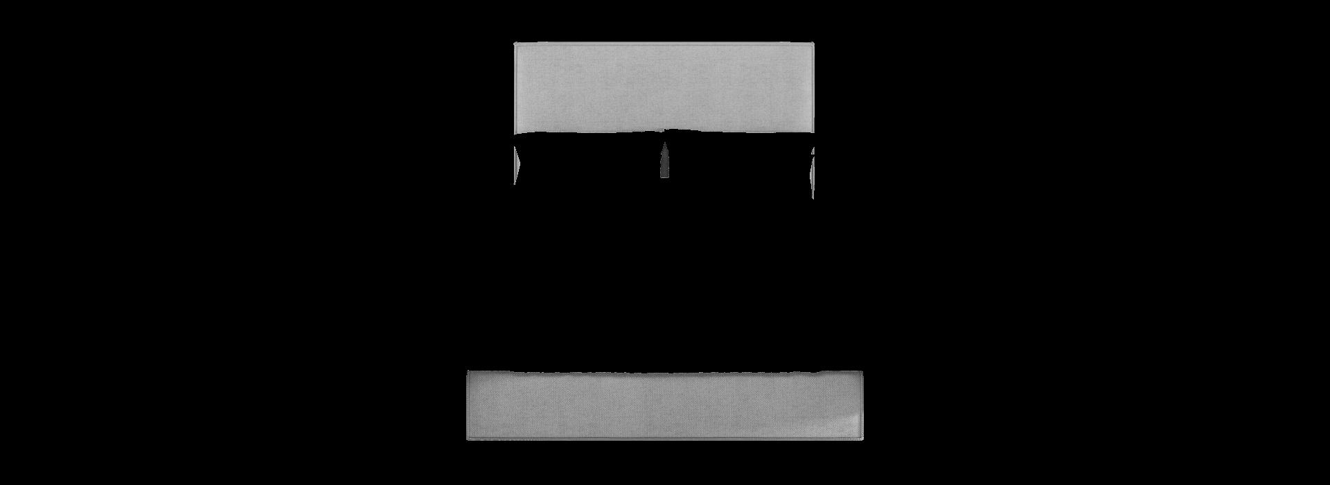 Лина 1.2 кровать с подъемником - маска 1