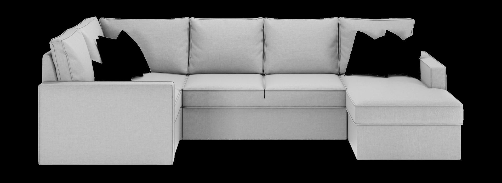 Лінкольн В модульний кутовий диван - маска 1