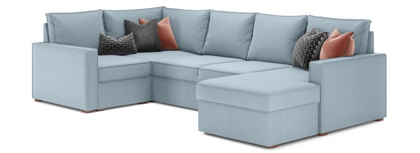 Лінкольн В модульний кутовий диван - фото 2