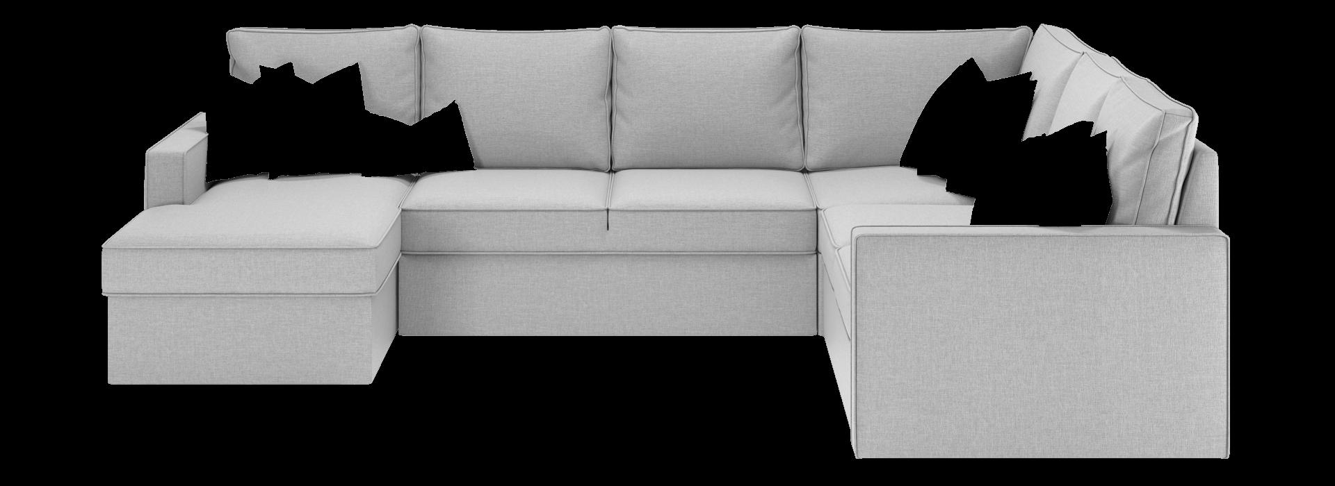 Лінкольн С модульний кутовий диван - маска 1