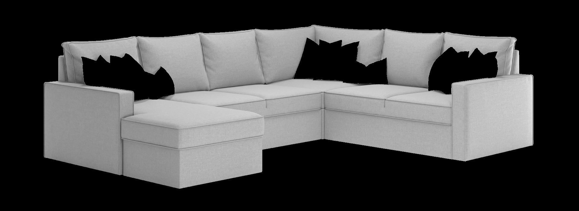 Лінкольн С модульний кутовий диван - маска 2