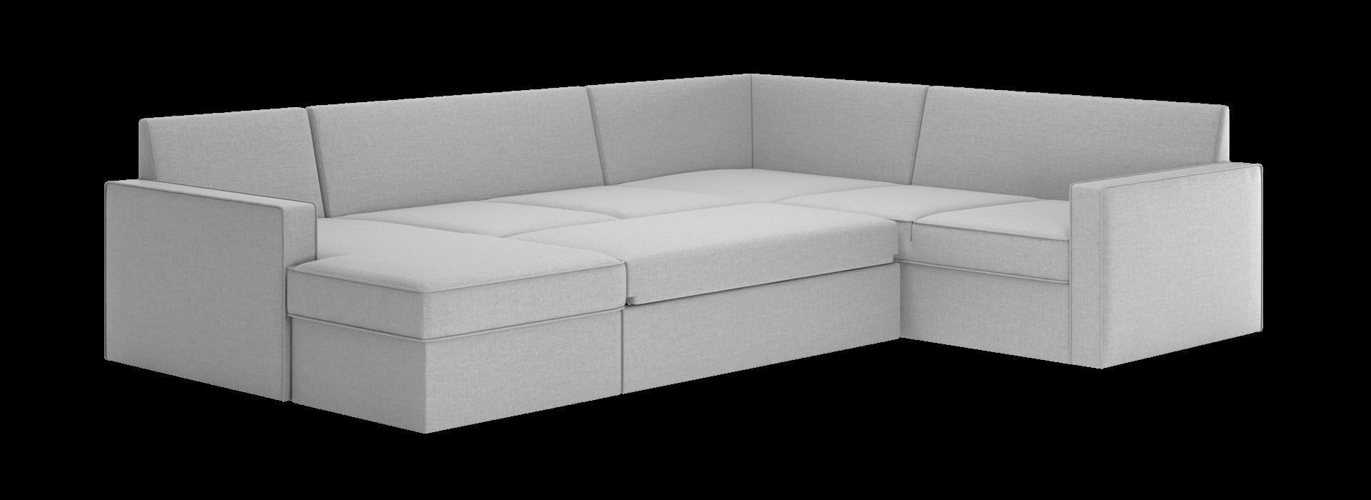 Лінкольн С модульний кутовий диван - маска 3