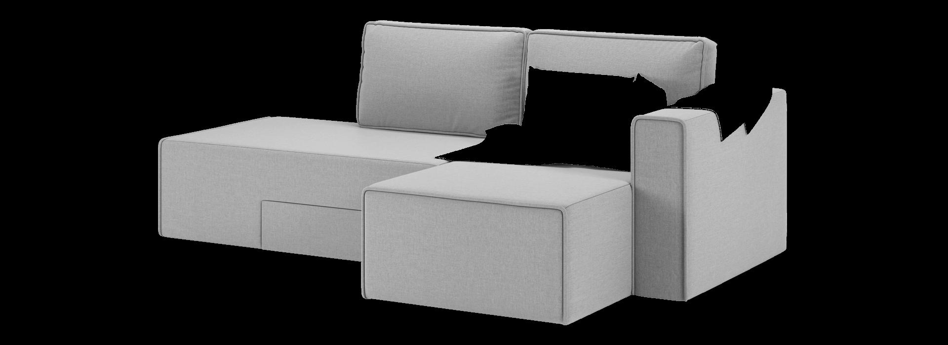 Лоренс кутовий поворотний диван - маска 3
