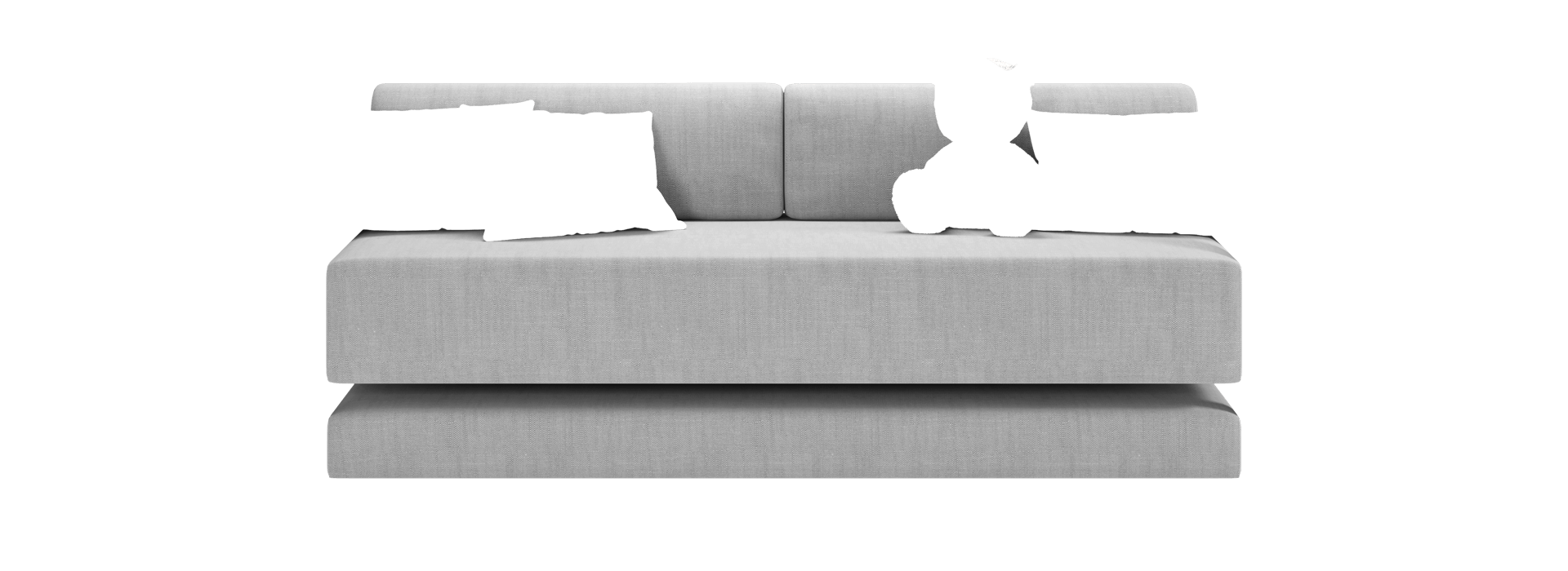 Мааян-3Д Прямой диван - маска 1