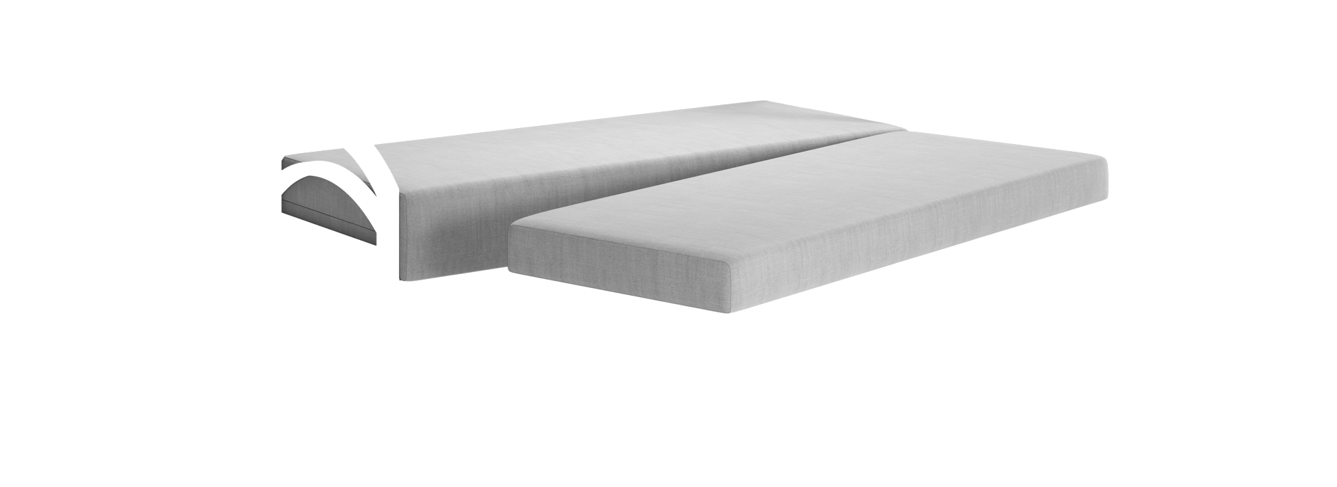 Мааян-3Д Прямой диван - маска 4