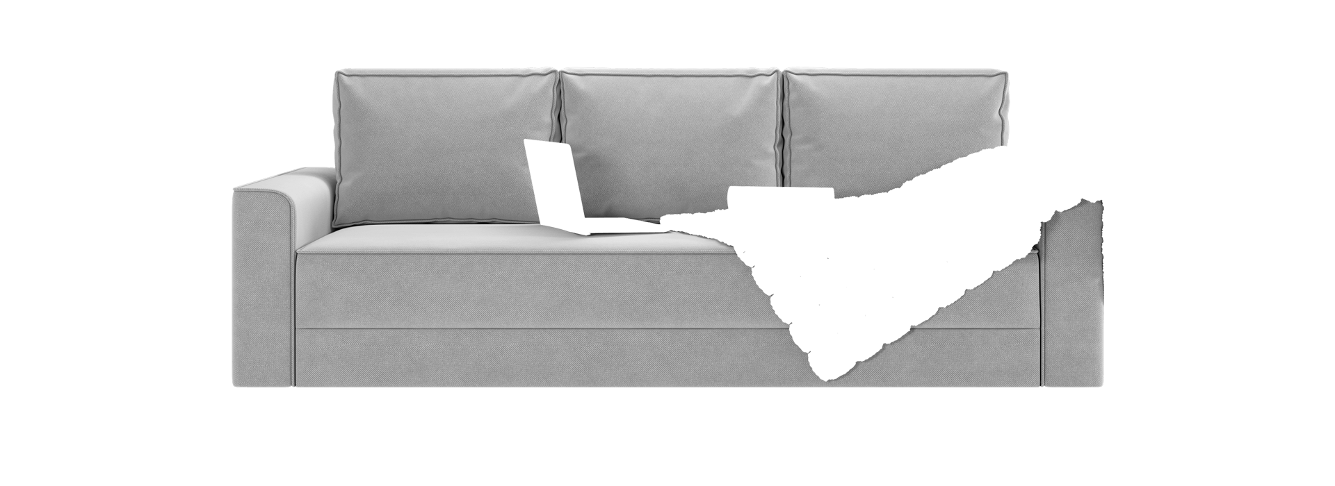 Нейтан Прямой диван - маска 1