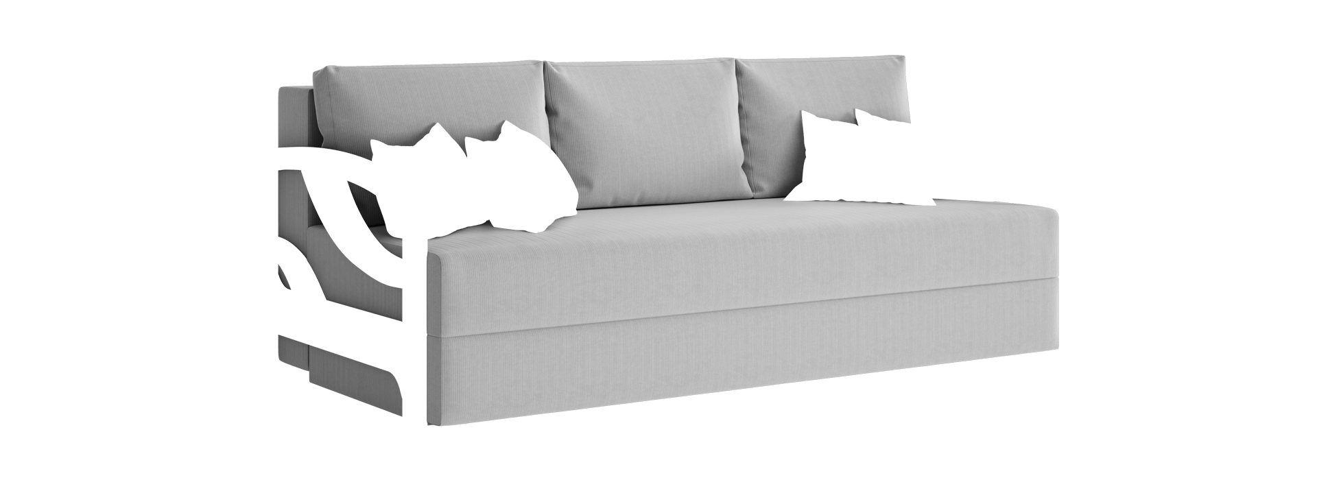 Ор-4 прямий диван - маска 2