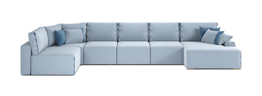 Тиффани U модульный угловой диван - фото 1