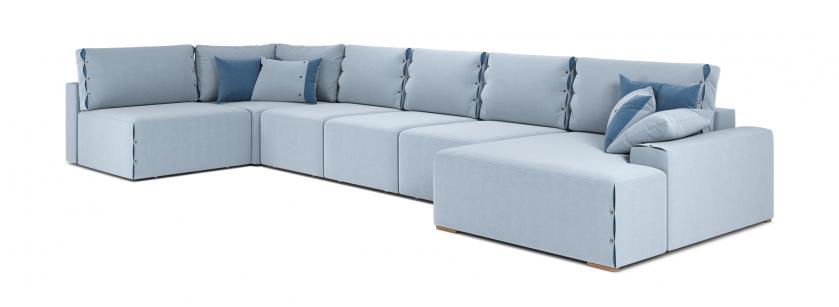 Тиффани U модульный угловой диван - фото 2