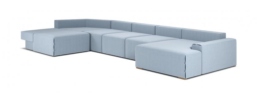 Тиффани U модульный угловой диван - фото 4