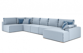 Тиффани U модульный угловой диван